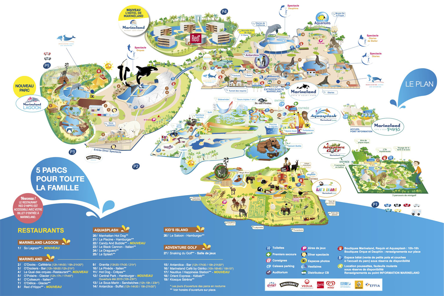 Plan MARINELAND