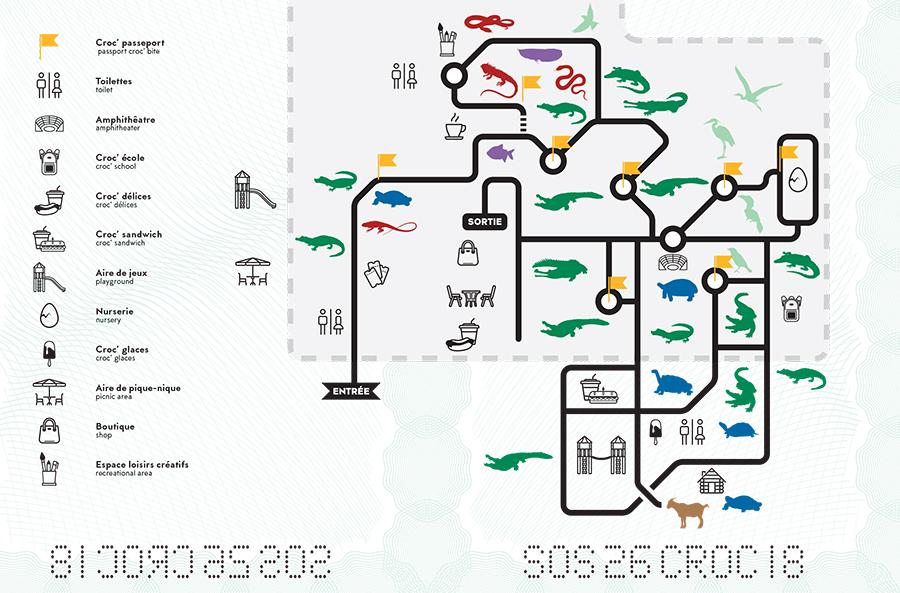 Plan LA FERME AUX CROCODILES